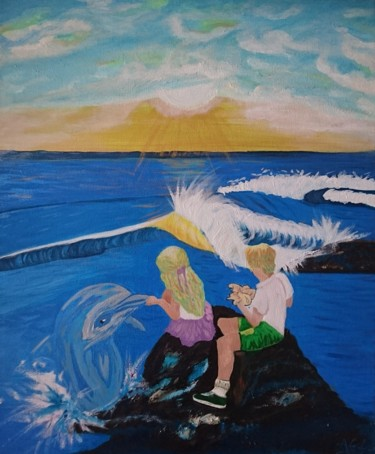 les jumeaux a la mer