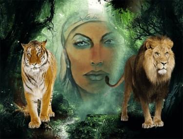 Tigre et lion agl