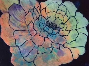 Pivoine multicolore